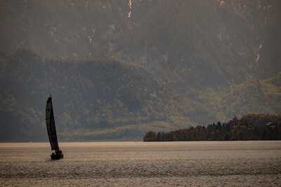 Segelboot am Attersee